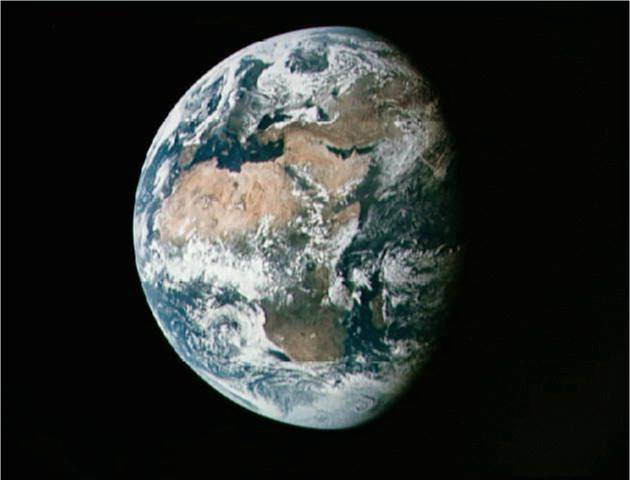 Earth, Africa, Apollo 11