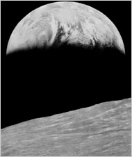 Lunar Orbiter 1, 1966