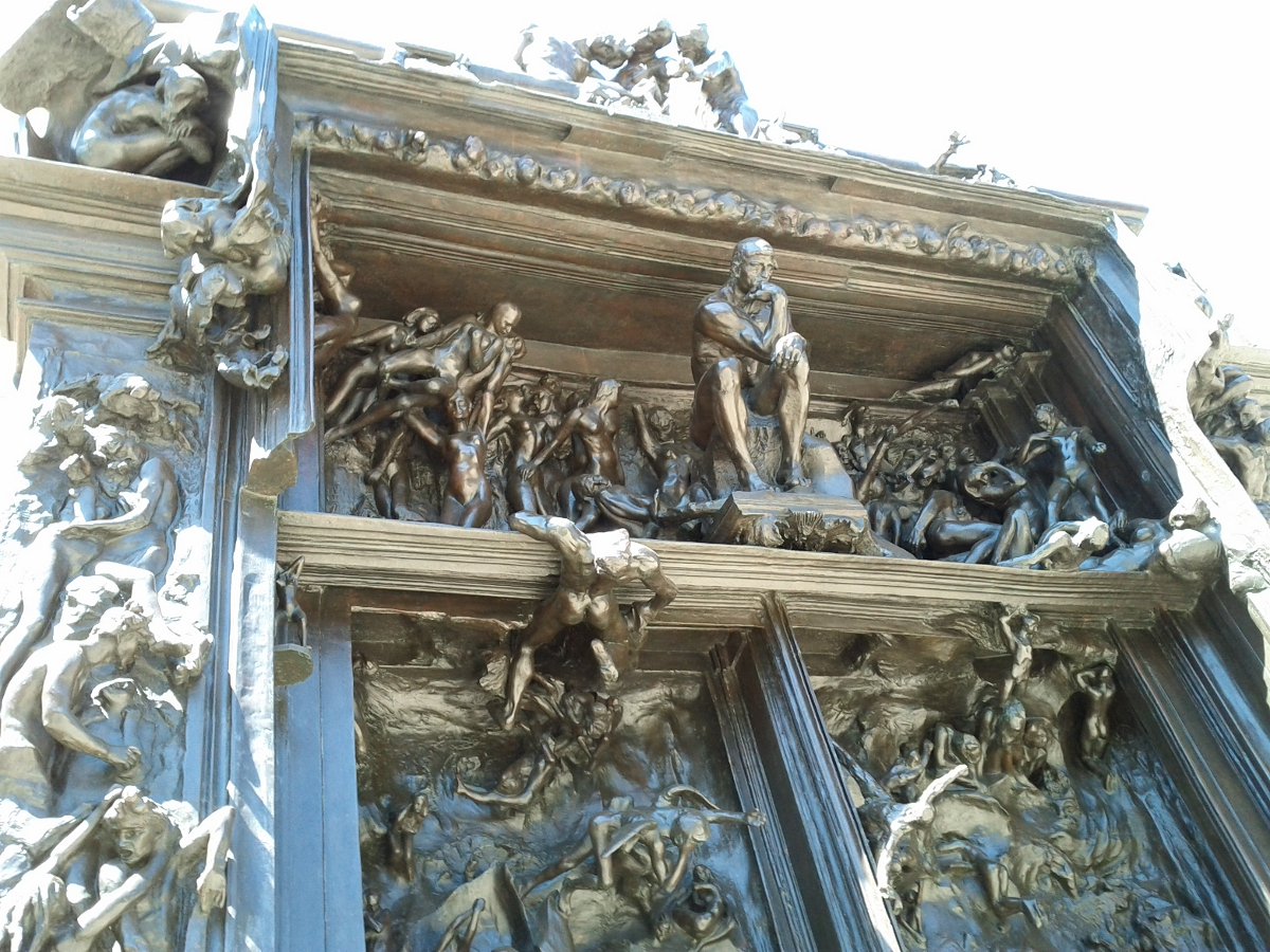 Rodin's The Gates of Hell , Cantor Art Center, Stanford University ... Rodin Gates Of Hell