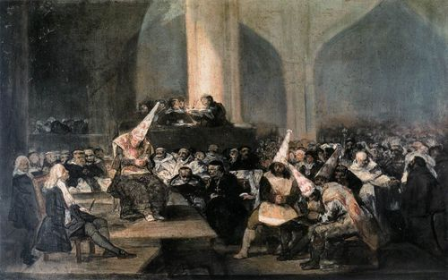 The Tribunal of the Inquisition, Francisco de Goya